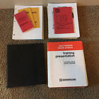 Large Lot of Caterpillar Sales, Training, Directory Guides Literature 1980's