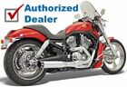Bassani Chrome Road Rage B1 II Power 2 into 1 Exhaust Pipe System Harley V Rod