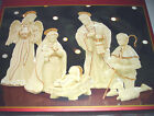 Lenox Innocence NATIVITY SET 6 Figurines Holy Family Angel Shepherd