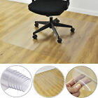 47 x 47 PVC Chair Floor Mat Home Office Protector For Hard Wood Floors New