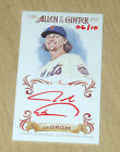 2015 Topps Allen Ginter mini card SP RED autograph Jacob DeGrom 6 10