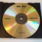 MR. BIG ACTUAL SIZE PROMO MASTER CD ADVANCE RADIO RARE! 2 BONUS TRACKS