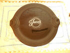 Black Fiesta Serving Tray Cake Plate with box, made in USA 1999