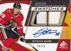 2008-09 UD SP GAME USED PATRICK KANE 10 JERSEY PATCH AUTO SIGNIFICANT SWATCHES