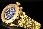 Invicta Reserve Specialty Subaqua Blue Dial 2-Tone Gold Chronograph 52mm Watch