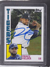 *PRINCE FIELDER* 2012 Topps Archives Hand-Signed Auto TEXAS RANGERS