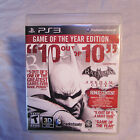 sony playstaion 3 ps3 batman arkham city complete tested!