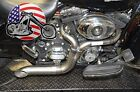 Twisted Choppers 2 into 1 Exhaust Header Pipe 2007 2009 Harley Touring Bagger