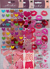 Sticko VALENTINES stickers Hearts LOVE Adorable QUICK SHIP