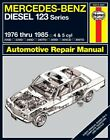 Repair Manual fits 1976-1985 Mercedes-Benz 300D 240D 300CD  HAYNES
