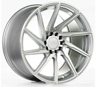 F1R F29 18X85 5X1143 +38 SILVER WHEELS FIT MAZDA SPEED 3 5 6 MIATA MX 5 RX8