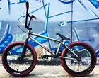 VANDALS iNC 2017 BMX Bike Complete Raw Red Tyres NEW Colourway