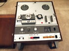 Working Akai X 1800SD Reel to Reel 8 Track Player Incl Speed adapter and Cover