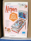 1969 Gottlieb AIRPORT Pinball Advertising Flyer