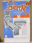 1965 United CHEETAH Shuffle Bowler Advertising Flyer