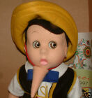 LENCI DOLL Italian Pinocchio 18 449 499 BEAUTIFUL RARE BOTH DOLLS