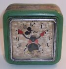 VINTAGE MICKEY MOUSE INGERSOLL CLOCK 1933 DISNEY WIND UP CLOCK RARE