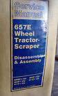 OEM Cat Caterpillar 657E WHEEL TRACTOR-SCRAPER Service Manual SENR2685  Lot #938