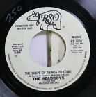 Rock Promo Nm 45 The Headboys The Shape Of Things To Come The Shape Of Thin