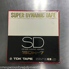 NEWTDK SD 150H-7 SUPER DYNAMIC TAPE ORIGINAL MASTER RECORDING REEL TO REEL 1200