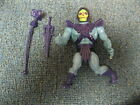 1981 Skeletor Figure with Weapons from He MAN MOTU