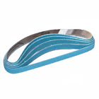 Cloth Sanding Belts 13 x 457mm Zirconium Pack of 50 120g Powerfile Power File