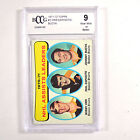 1971-72 Topps Orr Esposito Bucyk #8 70-71 Assists Leaders BGS BCCG 9