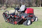 Toro Reelmaster 5510 Fairway Mower model 03680 Kubota 35hp Diesel DPA reels