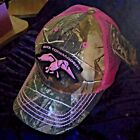 New with Tags Duck Dynasty Hat Baseball Cap Pink Camo Commander Realtree Velcro