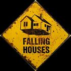 Falling Houses Danger Wicked Witch Fall Autumn Halloween Pumpkin Press Wood Sign