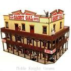 4Ground 28mm Old West Terrain Sassy Gal Saloon The Pre Painted Box MINT