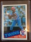 Kirby Puckett Cards, Rookie Card and Autographed Memorabilia Guide 14