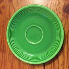 VINTAGE FIESTA DINNERWARE MEDIUM GREEN SAUCER 6