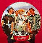 Sakura Coca-Cola Collector Plate Tailgate Collection 8 1/4