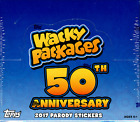 2017 WACKY PACKAGES 50TH ANNIVERSARY HOBBY SEALED BOX - IN STOCK!