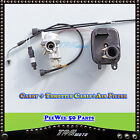 YAMAHA PW50 CARBURETOR+ MATCHING THROTTLE CABLE + AIR FILTER Y ZING PEEWEE 50CC