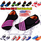 Water Shoes Slip on Aqua Socks Yoga Men Women Exercise Pool Swim Surf Beach Pool