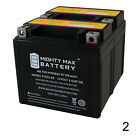 Mighty Max YTX5L BS SLA Battery for Yamaha 50 YW50A F FX Zuma 2017 2 Pack