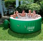 Jacuzzi Tubs Hot Tub Spas Portable Outdoor Inflatable Heated Spa Pool 4 Person