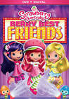 Strawberry Shortcake: Berry Best Friends (DVD, 2014) NEW