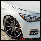 20 BLAQUE DIAMOND BD11 DEEP CONCAVE BRONZE WHEELS RIMS FITS LINCOLN MKS