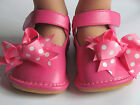 Toddler Shoes Squeaky Shoes Pink with Dot Bows Mary Jane Up to Size 7