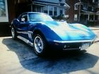 1969 Chevrolet Corvette 69 CORVETTE STINGRAY PEARL BLUE 4 SPEED