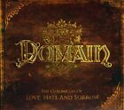 Domain - The Chronicles Of Love, Hate and Sorrow [New CD] Bonus Track, Ltd Ed, D