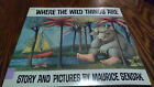 where the wild things are 25th anniversary edition book good shape