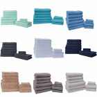 Highams 100% Egyptian Cotton Luxury Soft Heavy Towel Bale 550 GSM 10 Piece Set