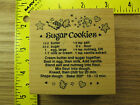 Rubber Stamp PSX Sugar Cookie Recipe G1150 Christmas Stampinsisters 1198
