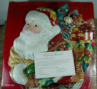 Pre-owned Fitz and Floyd Holiday Solstice Santa Serving Canape / Cookie Plate