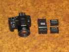 Canon PowerShot SX50 HS 121 MP 50x Digital Camera Black AS IS