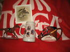 SARATOGA RACE TRACK GIVE A WAYS SOUVENIRS BLANKET MUGS BOBBLEHEAD HORSES PICTURE